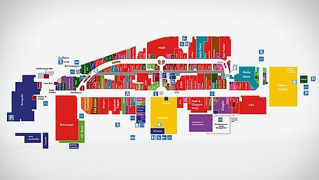 Lageplan | Shopping Erlebnisse im Main Taunus Zentrum